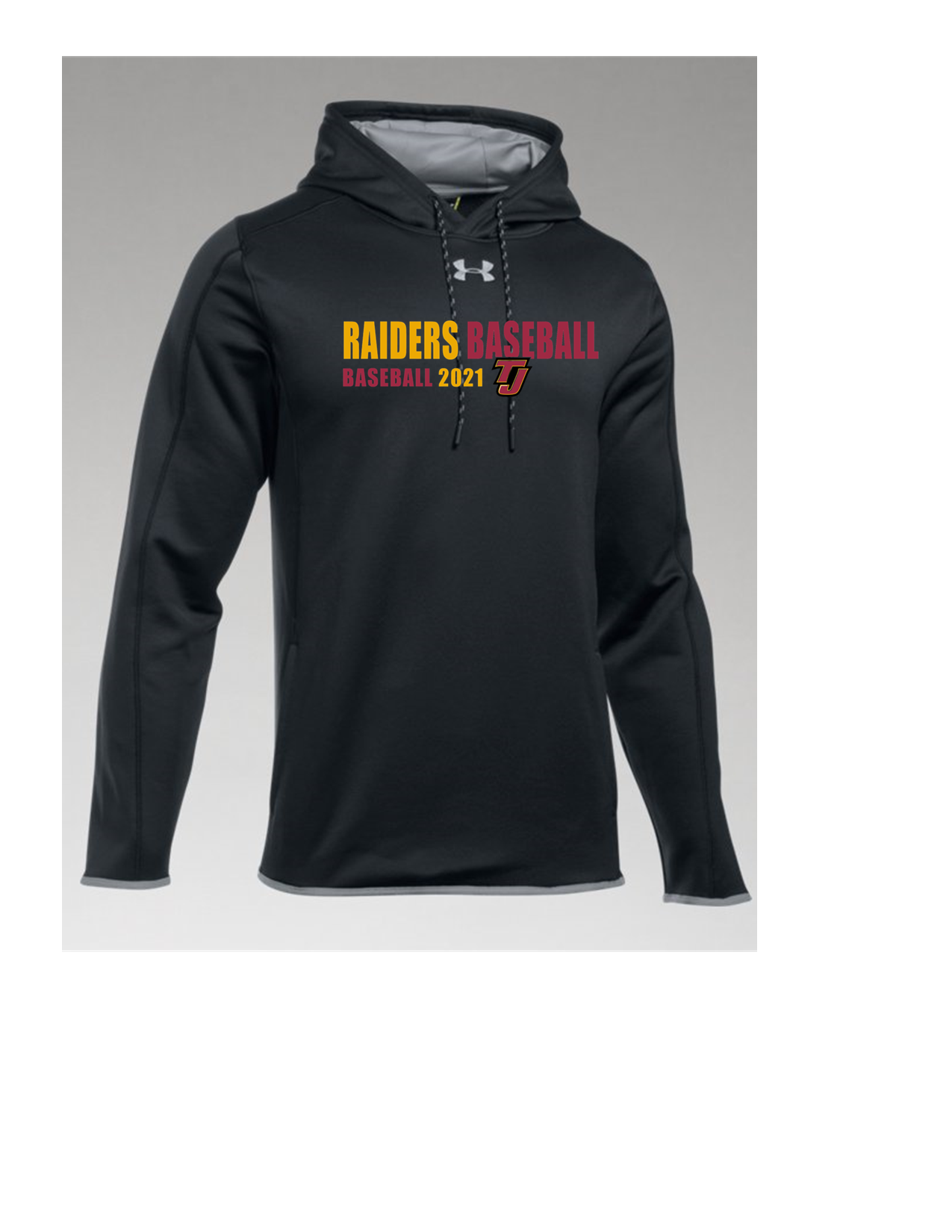 Under Armout Double Threat AF Hoody Raiders Baseball