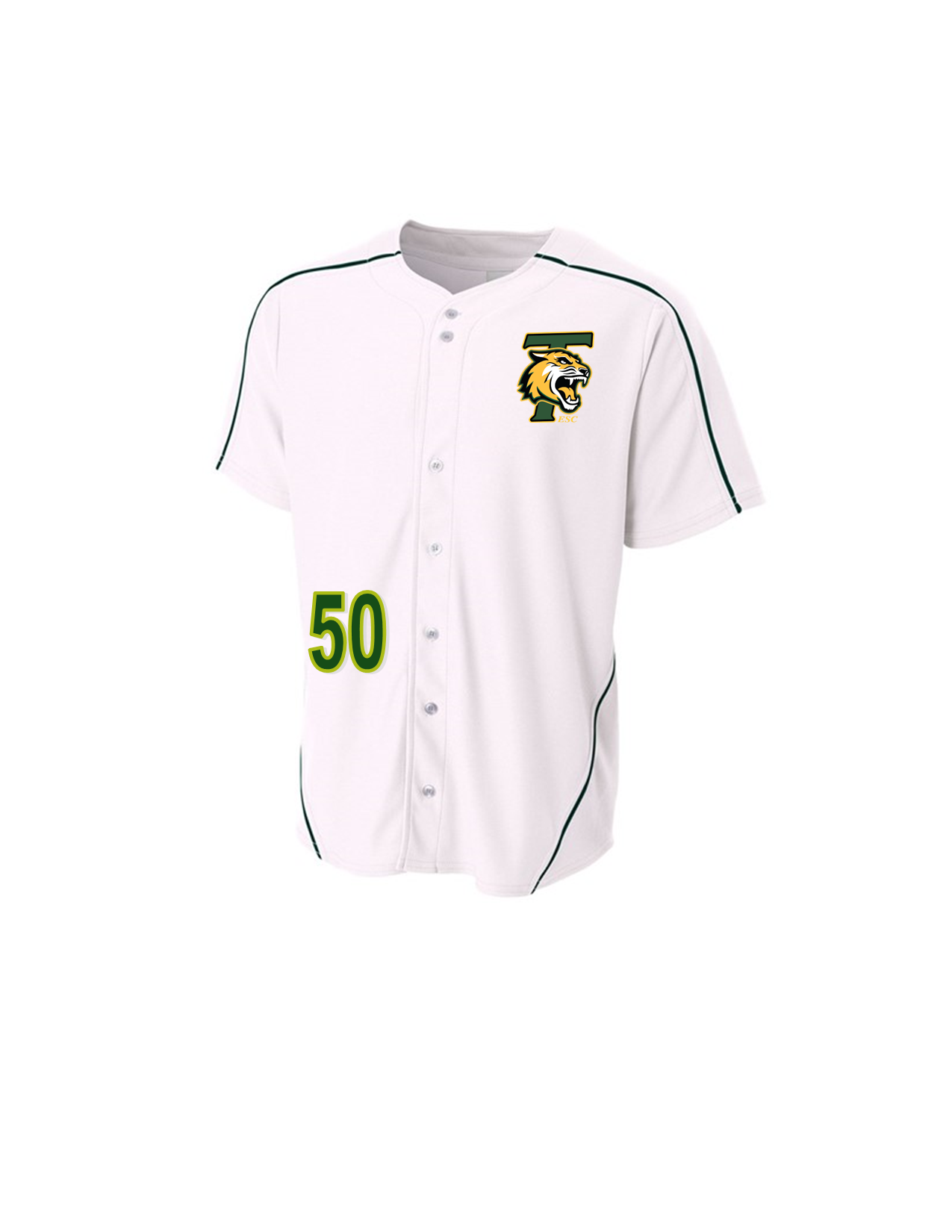 Tigers Package White Jersey