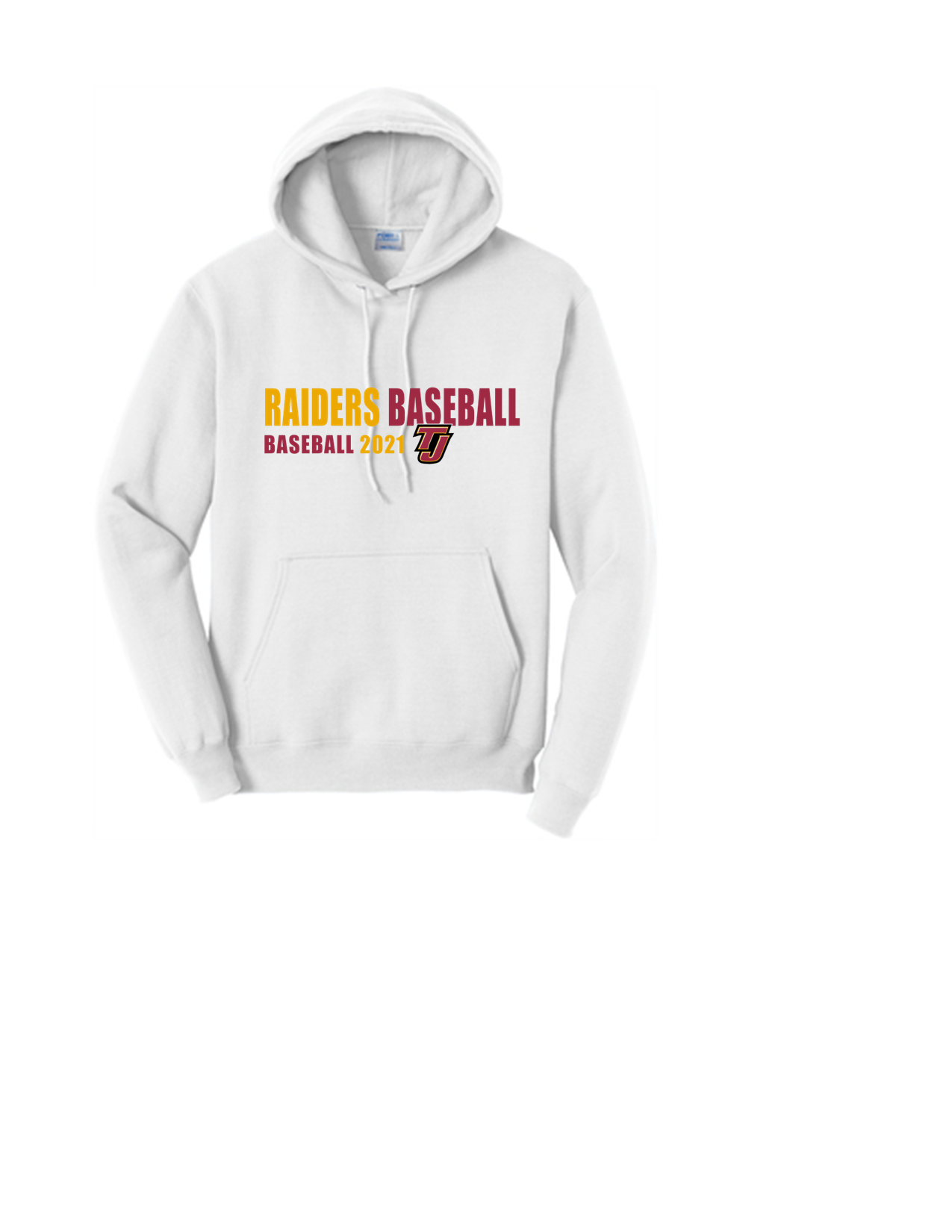 Raiders Baseball Hoody