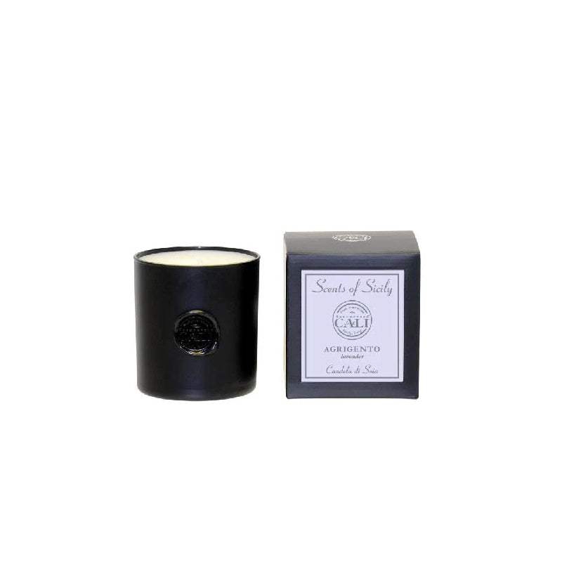 Scents of Sicily Collection - 9 oz soy candle - Agrigento (lavender/eucalyptus)