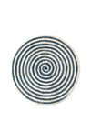 Kata Spiral Placemat - Blue (Set of 4)