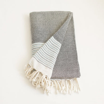 100% Turkish Cotton Handwoven Throw Blankets