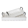 Rustic Tray - White Tray Set