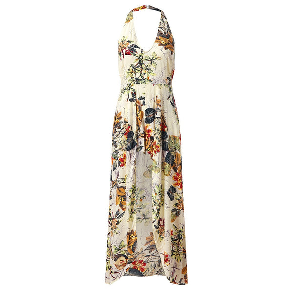 Robe Fleurie <br> Tropical Fendu