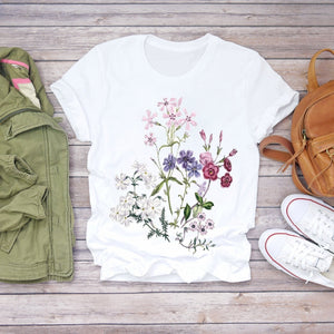 Arrangement Floral T-shirt