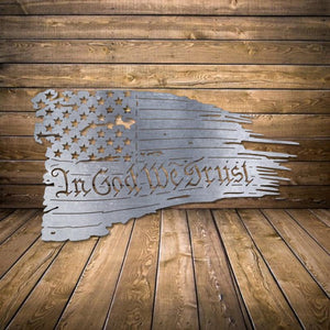 In God We Trust - 4th of July Decor