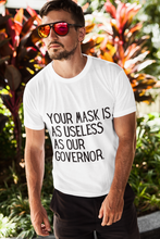 Load image into Gallery viewer, Unisex Useless Governor T-Shirt