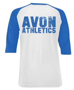 Avon Athletic Baseball Raglan Shirt