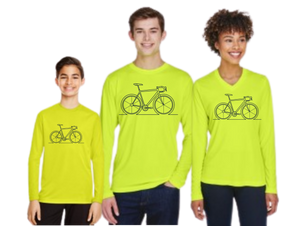 Bike Riders Fall Long Sleeved Performance T-Shirt