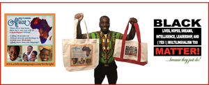 World Languages Themed Tote Bags