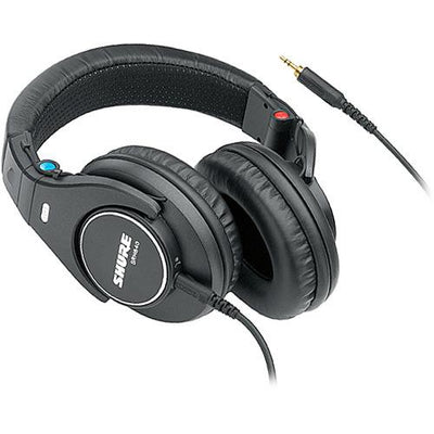 Shure SRH840 Professional Monitoring Headphones - Black - 305broadcast