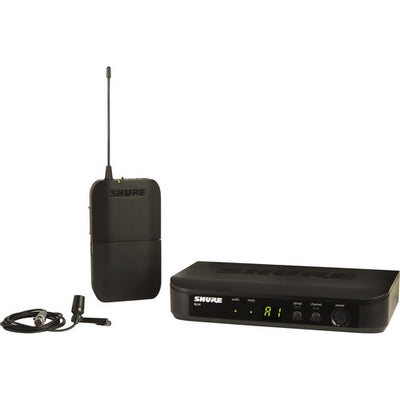 Shure BLX14/CVL Wireless Microphone System with CVL Lavalier Microphone, H9 - 305broadcast