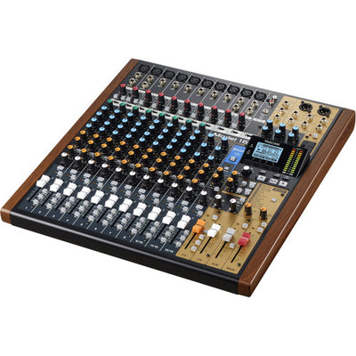 Tascam MODEL 16 - All-In-One Mixing Studio - 305broadcast