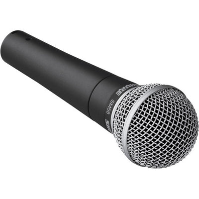 Shure SM58-LC Cardioid Dynamic Vocal Microphone - 305broadcast