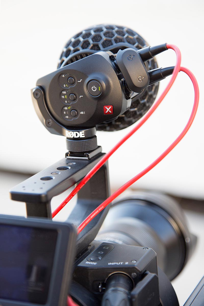 Rode Stereo VideoMic X (SVMX) - 305broadcast