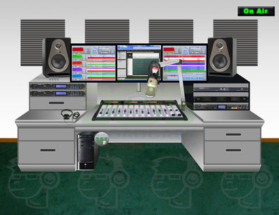 On Air Studio Popular IP Package - Complete Package for Radio Stations to Upgrade from Analog - 305broadcast
