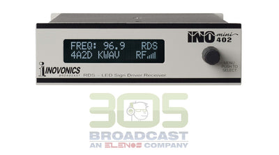 Inovonics INOmini 402 RDS Sign Driver/Receiver - 305broadcast