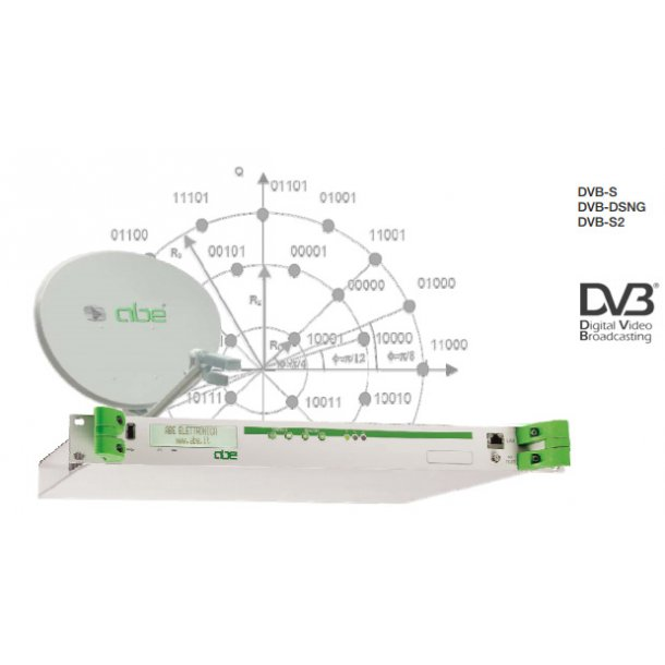 ABE DME5000 - MPEG ENCODERS (SD/HD) + DVB-S/DSNG/S2 MODULATOR