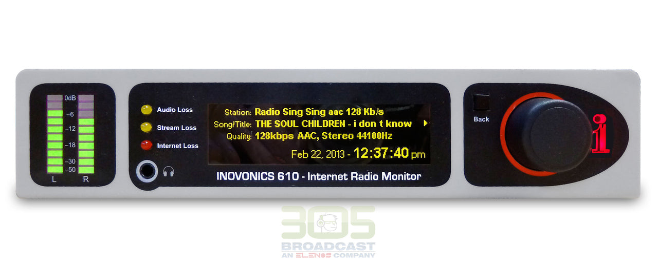 Image of Inovonics 610 Internet Radio Monitor