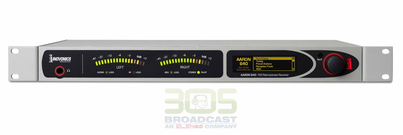Image of Inovonics 640 AARON FM Re-Broadcast Receiver