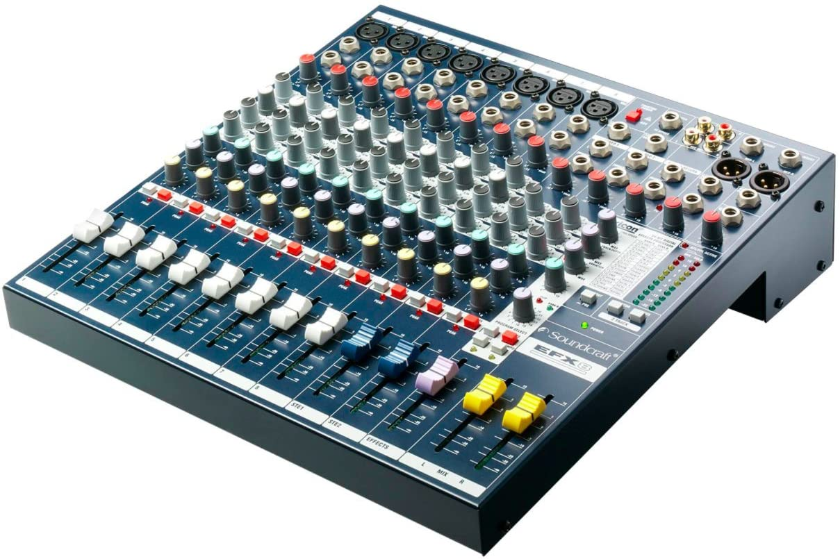 Soundcraft EFX8 High-Performance 8-Channel Lexicon Effect Mixer - 305broadcast