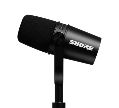SHURE MV7 Podcast and Radio dynamic Microphone - 305broadcast