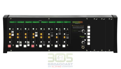 Wheatstone SideBoard 8 Channel + 3 Expand IP Audio Console - 305broadcast