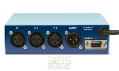 Henry Engineering AES DIGISWITCH 3X1™ - AES Digital Audio Switch - 305broadcast