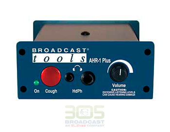 Broadcast Tools AHR-1 Plus - Active Headphone Remote - 305broadcast