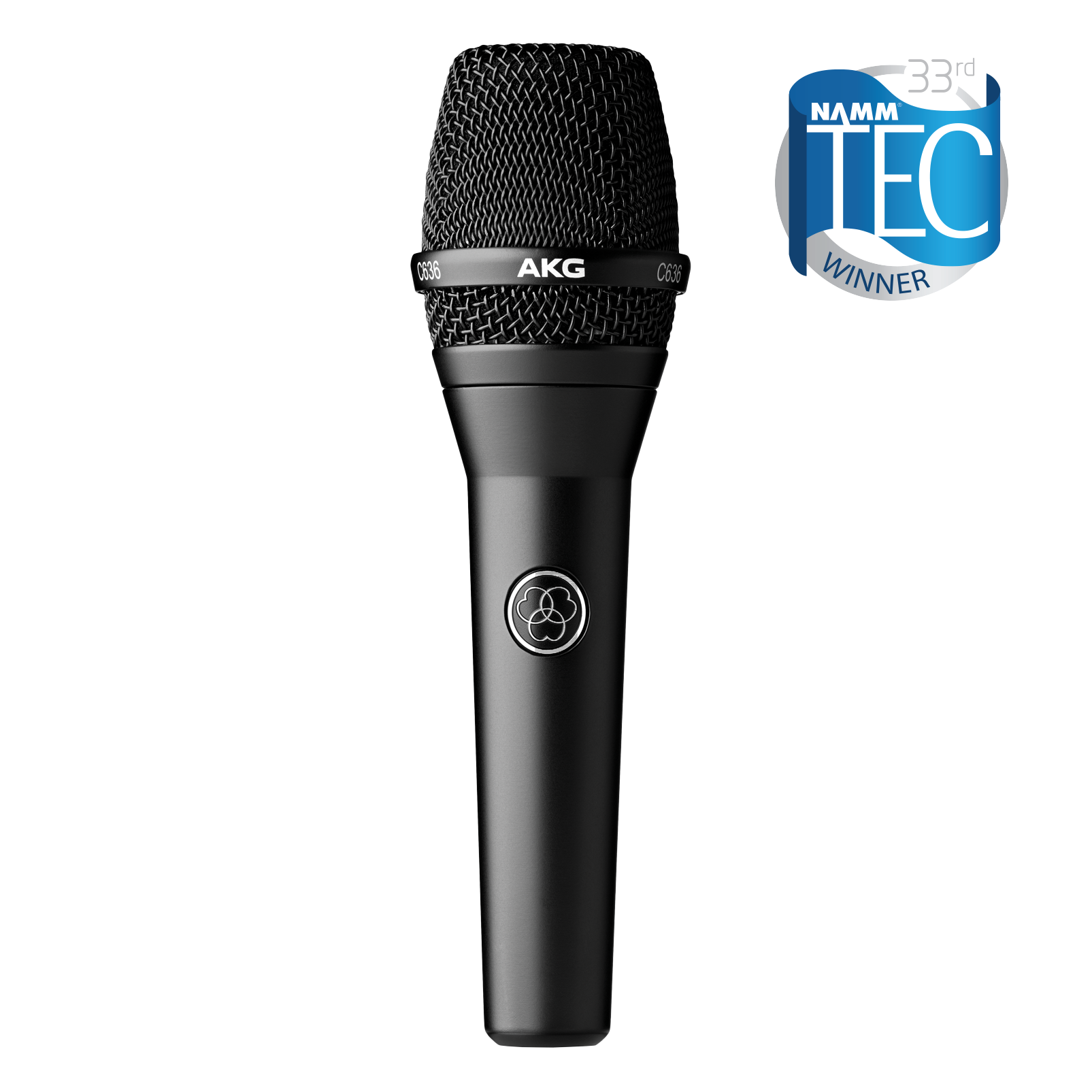 AKG C636 Handheld Vocal Microphone Black - 305broadcast