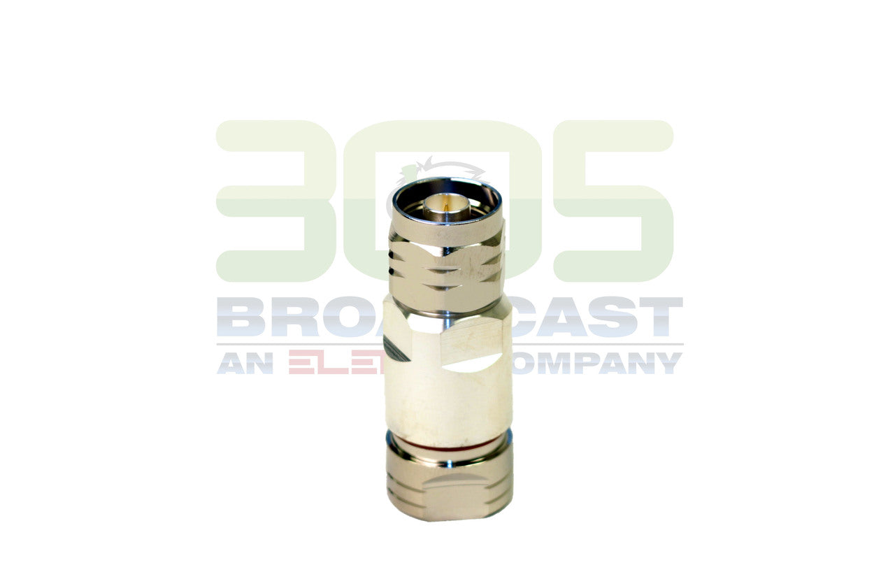 N Male, Positive Stop Connector, for 1/2-inch LDF4-50A
