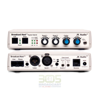 JK AUDIO Broadcast Host Desktop Digital Hybrid - 305broadcast