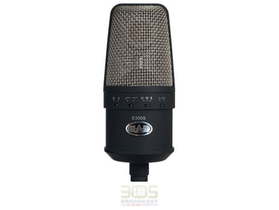 CAD Audio E300S - Large Diaphragm Multi-Pattern Condenser Microphone - 305broadcast
