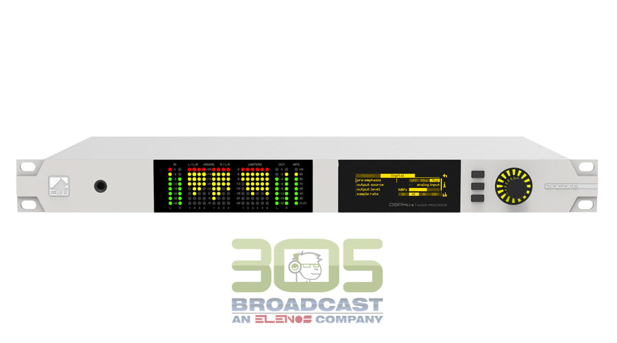 BW Broadcast DSPXtra - Encore AM, FM & HD Audio Processor - 305broadcast