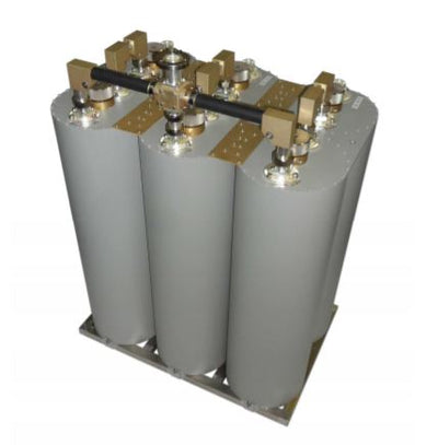 FM-Radio Band II 3x1.2kW STAR COMBINER - Double Cavity Band Pass Filter - 305broadcast