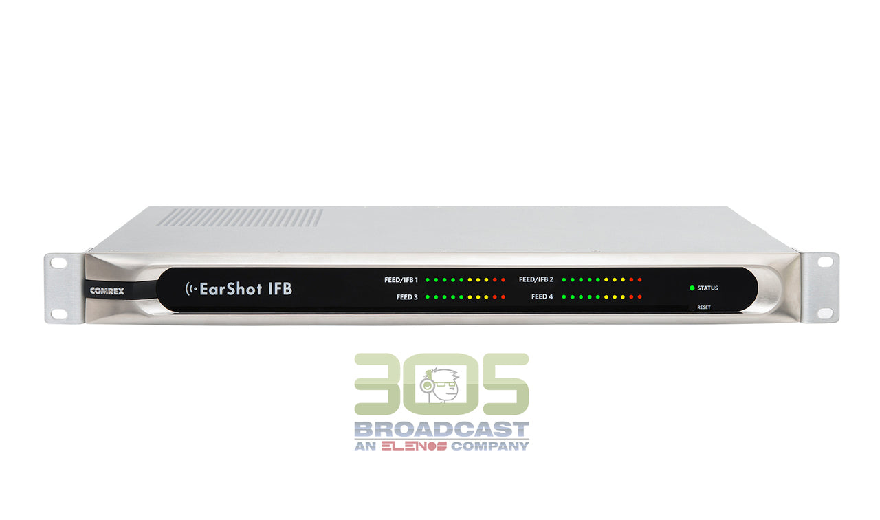 Comrex EarShot IFB - A VoIP solution for TV IFB - 305broadcast