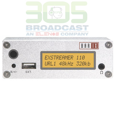 Barix Exstreamer 110 - 305broadcast