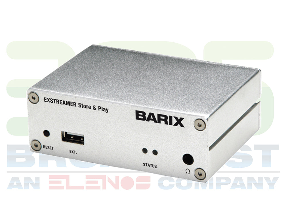 Barix Exstreamer Store & Play - 305broadcast