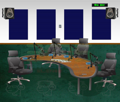 Talk Show Room Studio Popular IP Package - 305broadcast