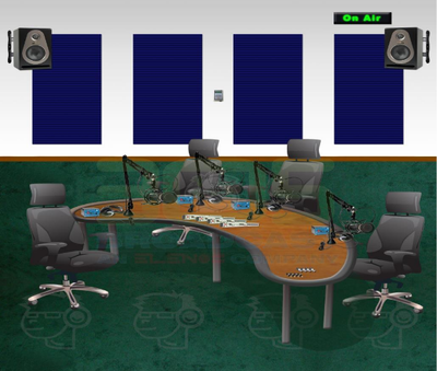 Talk Show Room Studio Popular Analog Package