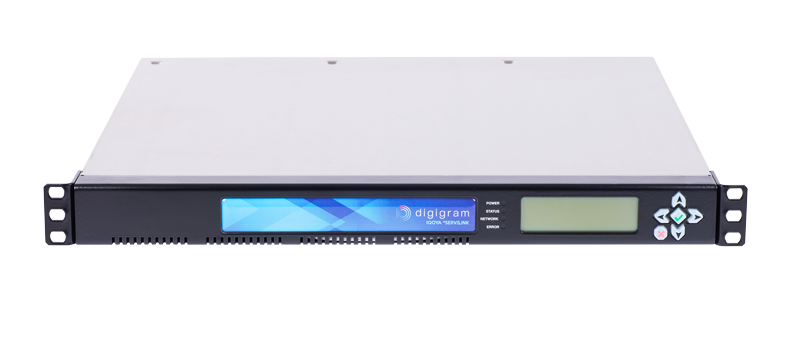 Digigram IQOYA SERV/LINK 881 Multichannel IP Audio Codec with 8 Mono IP Codec and 4 Stereo AES/EBU I/O - 305broadcast