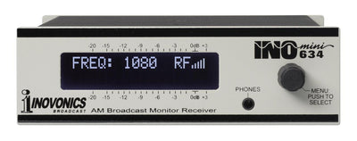 Inovonics INOmini 634 AM Broadcast Monitor / Receiver - 305broadcast