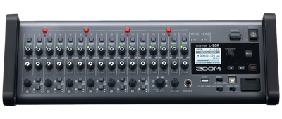 Zoom LiveTrak L-20R - Digital Mixer & Multitrack Recorder - 305broadcast