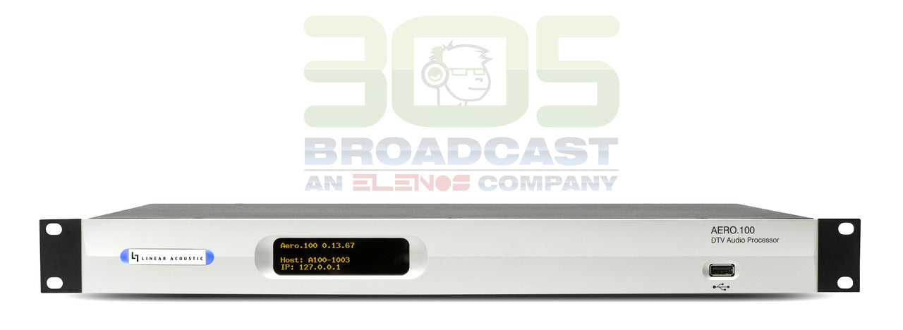 Linear Acoustic Aero 100 HD - 305broadcast