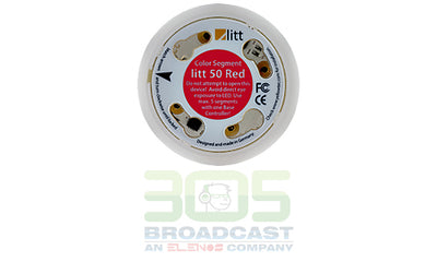 Yellowtec Litt 50/22 Color Segment ø 51mm Height 22mm Aluminum - 305broadcast