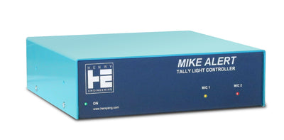 Henry Engineering MIKE ALERT™ - BI-COLOR TALLY LIGHT CONTROLLER - 305broadcast