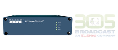 Broadcast Tools NTP Server Sentinel - 305broadcast