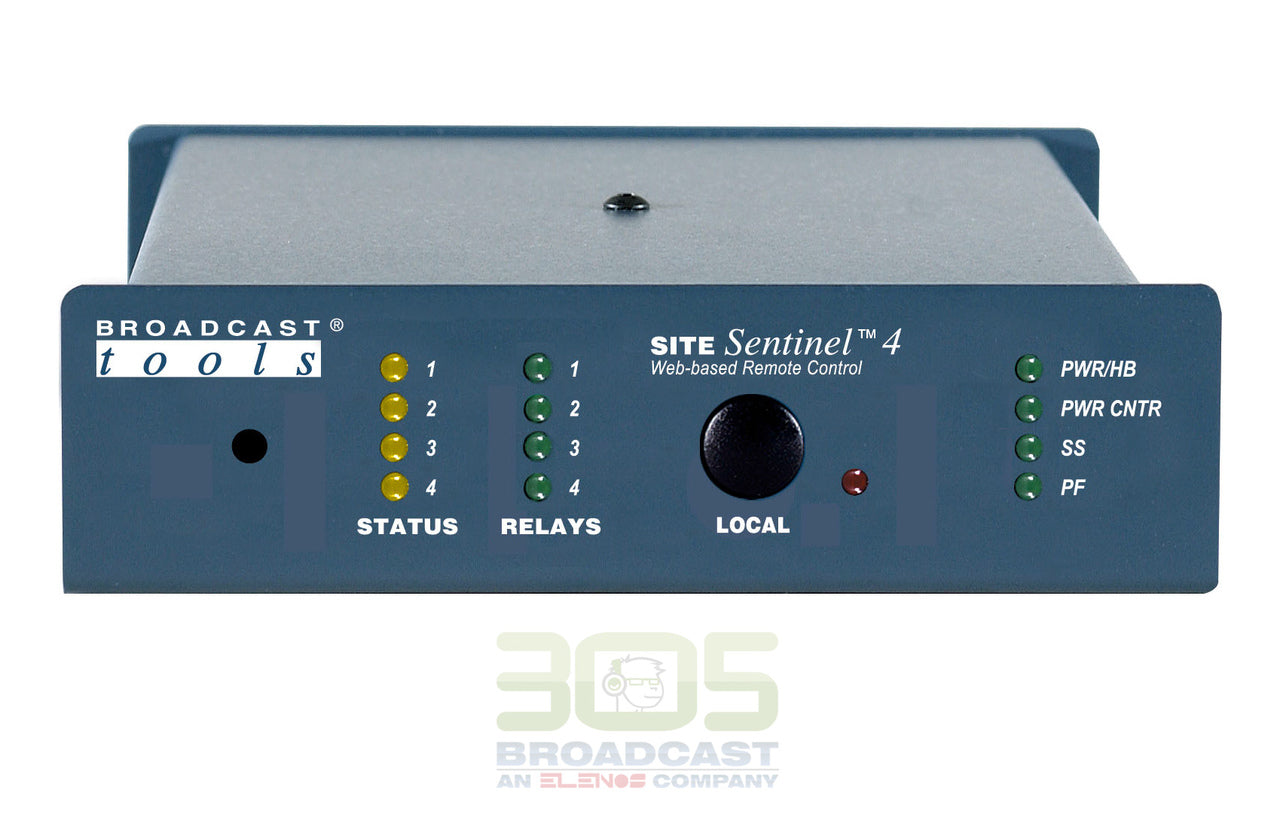 Broadcast Tools Site Sentinel 4