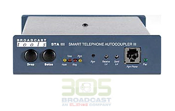Broadcast Tools STA III Plus - Smart Telephone auto coupler - 305broadcast