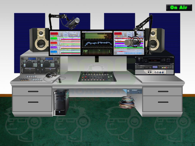 On Air Basic Analog Studio Package - 305broadcast